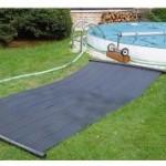Panneaux solaire chauffage piscine