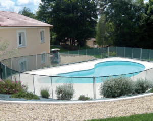 La barri re piscine beethoven s re esth tique discr te for Barriere piscine demontable